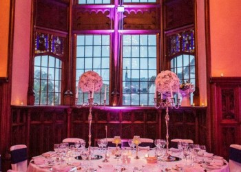 Wedding in Adare manor hotel reception